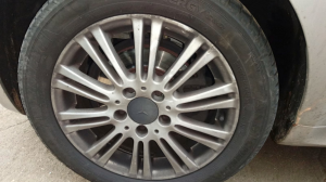 Cerchio in lega usato dm 16 Mercedes-benz Classe A W/C169