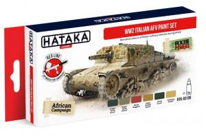 WW2 Italian AFV paint set