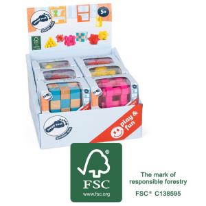 Giochi di abilità colorati per bambini Display