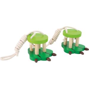 Trampoli di legno per bambini zampa