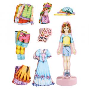 """Bambola da vestire """"Magda"""" Magnetico"""