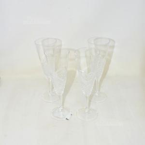 4 Bicchieri Cristallo