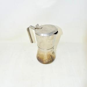 Mokka Caffè Apertura Col Manico Acciaio Inox Brevettata