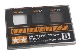 Weathering Set B - snow - soot - rust