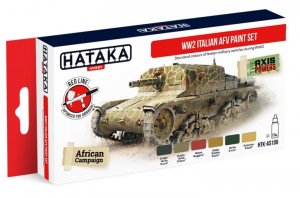WW2 Italian AFV paint set