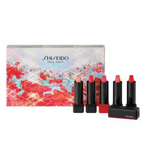 Shiseido ModernMatte Powder Lipstick Expressive Deluxe Mini Set 5 Parti 2020