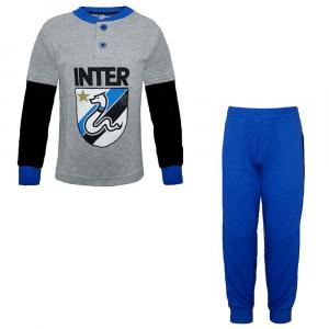 INTER pigiama in caldo cotone bambino - 3/8 anni