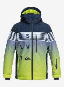 Giacca Snowboard QuikSilver BOY Mission Blue Green