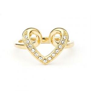 Nib Swarovski Cupidon Ring Rose Gold Plating Women