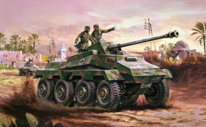 SDKFz.234 Armoured Car