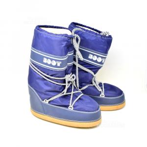 Moon Boot Doposci Blu N 41-43 T