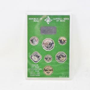 Monete Da Collezione Iraq COINS COMMEMORATING THE RESTORATION OF THE CITY OF BABYLON