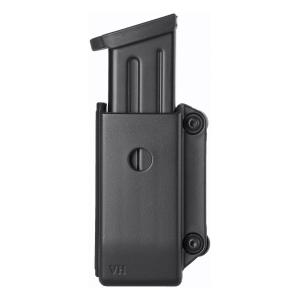 Porta caricatore bifilare aperto in polimero stampato ad iniezione con clip per uso interno ed esterno