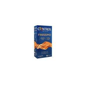 New Finissimo Control 12 Condoms 0.05mm