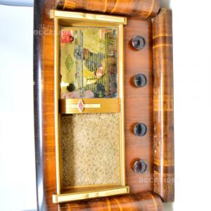 Radio Myrella; Levallois-Perret Vintage In Legno Non Funzionante T