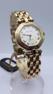 Orologio Donna Kienzle ottagonale placcato oro, vendita online | OROLOGERIA BRUNI Imperia
