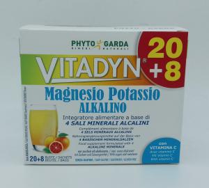 VITADYN MAGNESIO POTASSIO ALKALINO 20+8 BUSTE