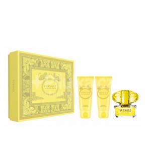 Versace Yellow Diamond Eau De Toilette Spray 50ml Set 3 Parti 2020