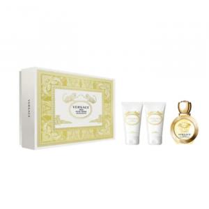 Versace Eros Pour Femme Eau De Toilette Spray 50ml Set 3 Parti 2020
