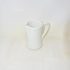 Caraffa Ceramica Bianca 18cm
