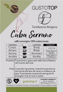 Caffè monorigine Cuba Serrano, confezione da n. 200 cialde