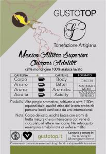 Caffè monorigine in cialda Mexico Altura Superior Chiapas Adelita confezione da n. 50 cialde in carta ese 44 mm compatibili