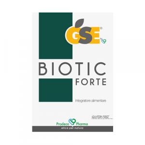 GSE Biotic Forte con estratto di semi di pompelmo 24 capsule