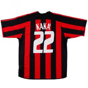2003-04 Ac Milan Maglia Kaka #22 M (Top)