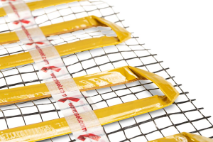 Riscaldamento a pavimento  specifico per parquet , lamellare, rovere di slavonia   prezzo  esposto : per  10,00 mq