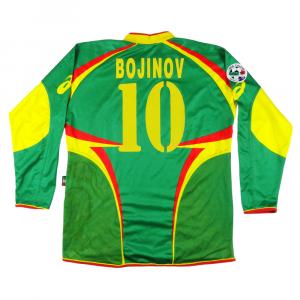 2004-05 Lecce Maglia Match worn vs Bologna #10 Bojinov  XL COA