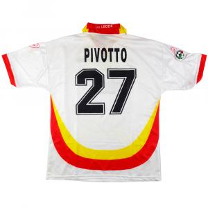 1999-00 Lecce Maglia Match worn vs Fiorentina #27 Pivotto XXL COA