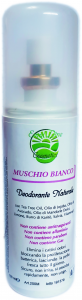 Crema Spray Deodorante al Muschio Bianco 100ml
