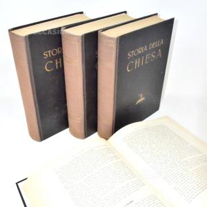 Libri Storia Della Chiesa 1942 4Volumi