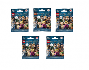 LEGO Minifigures 71022, Harry Potter e gli Animali Fantastici, 5 bustine casuali