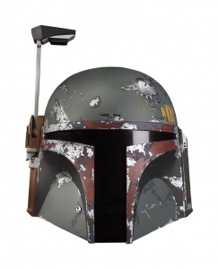 Star Wars Black Series Premium Electronic Helmet:​​​​​​​ Boba Fett by Hasbro