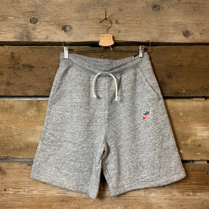 Pantaloncino Nike Heritage in Felpa Grigio Melange