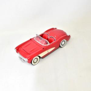 Modellino Corvette Rossa Cabrio