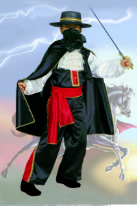 cavaliere nero tg9/11 anni