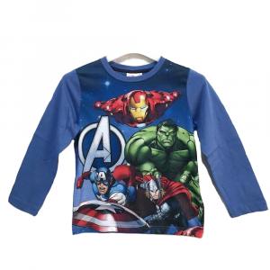 T-shirt blu AVENGERS a manica lunga bambino - 6 anni