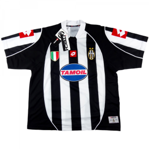 2002-03 Juventus Maglia Champions League L/XL *Nuova