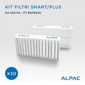 Kit ricambio filtri Smart - CONF. PROMO x30 - per Alpac VMC Smart e Plus, Climapac VMC Smart e Plus