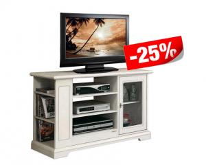 Mobile porta TV in legno con anta a vetro - OFFERTA