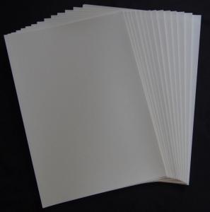 Decal  bianca  per  stampante inkjet