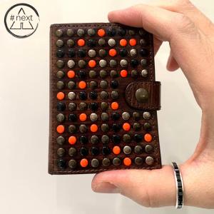 KJØRE PROJECT - Tokyo orange iClutch + Coins - Marrone, arancio fluo