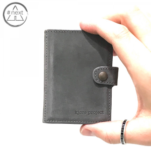 Kjøre Project - Light Grey iClutch + Coins - Grigio