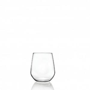 Rcr Bicchiere Universum 6 Pezzi in Vetro Altezza 99mm Ideale per Acqua e Bibite