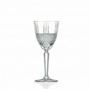 Rcr Bicchiere Calice Brillante Vino 6pezzi