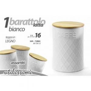 Gicos Barattolo Biscotti Metallo 16x11