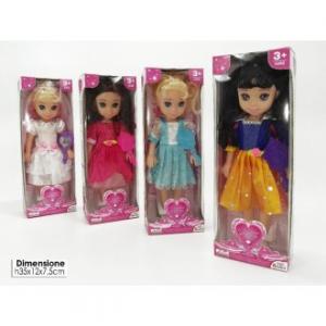 General Trade Giocattolo per Bambine la Bambola Pricipessa da Favola Music, con Suoni