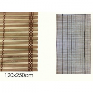 Tenda In Bamboo 120x250 cm Colore Effetto Naturale In Legno Per Finestre o Altro Casa